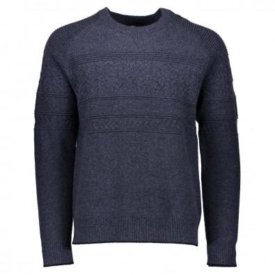 Obermeyer Mens Textured Crewneck Sweater