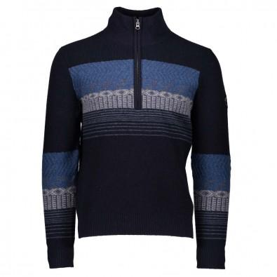 Obermeyer Mens Textured 1/2 Zip Sweater