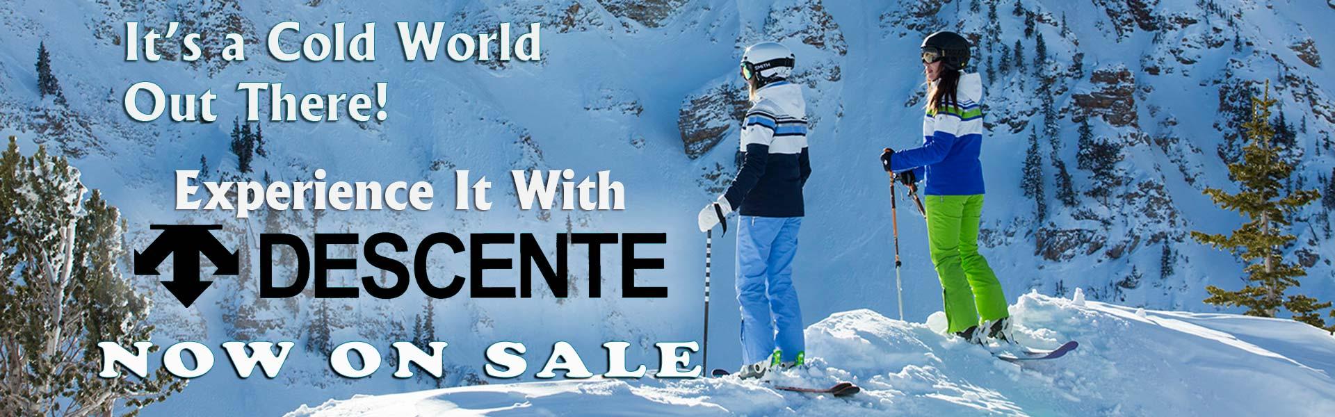 Descente Ski Clothing On Sale