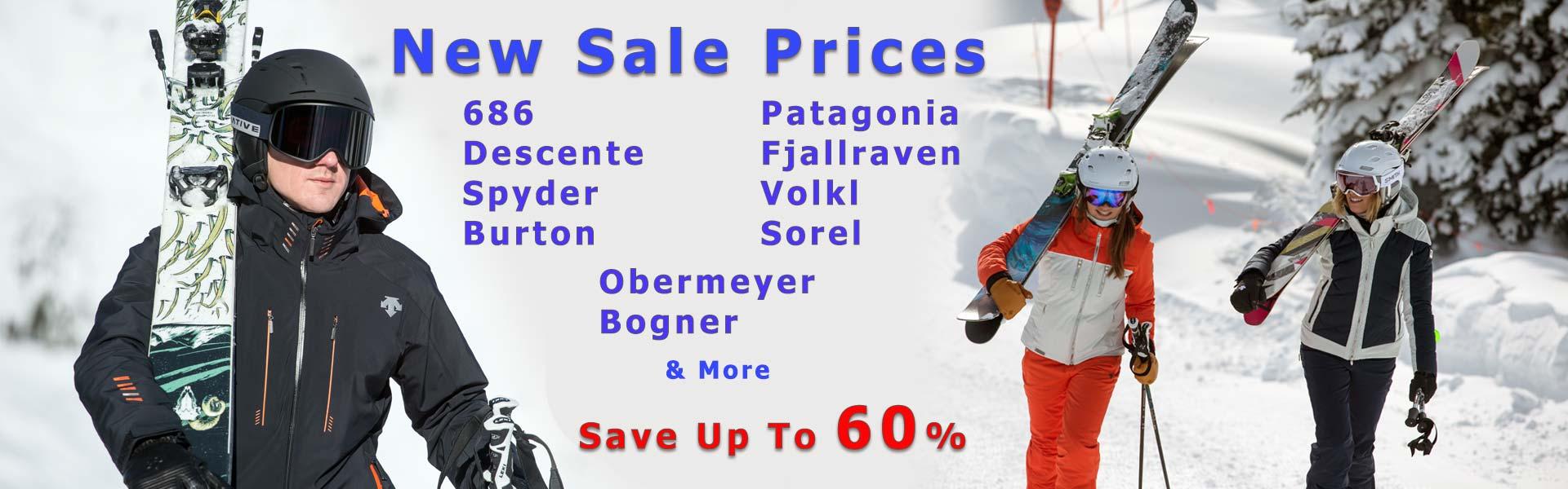 Best Selection of Ski Clothing & Equipment