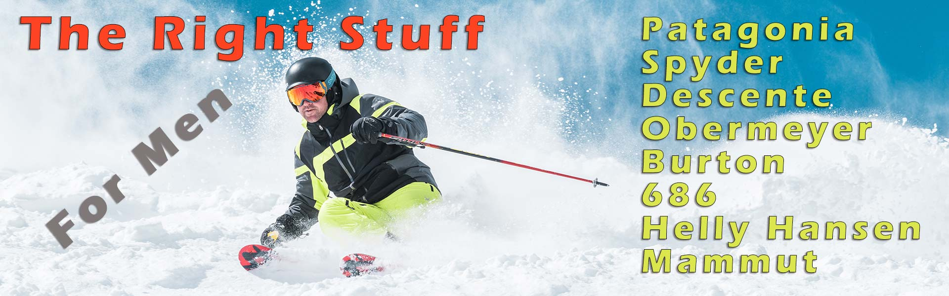 Best Selection of Ski Clothing & Equipment for Men
