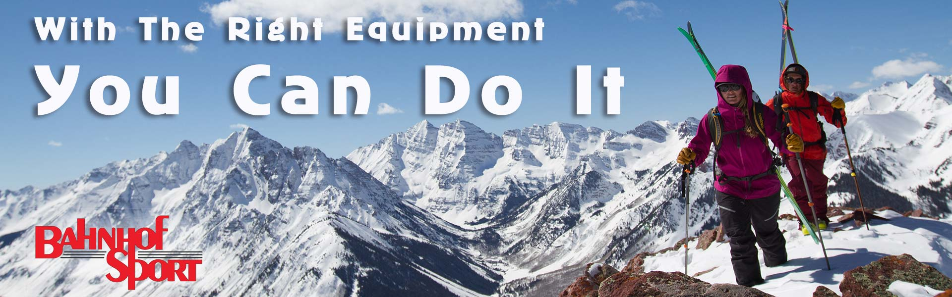 With the right equipment you can do it!